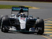 Hamilton qualification Australie