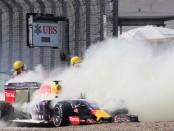 La casse de Kvyat symbolise bien le week-end cauchemardesque vécu par Renault en Chine.