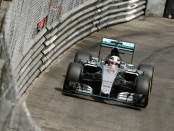 Hamilton qualification Monaco