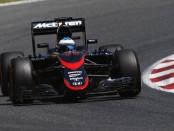 McLaren top of flop espagne