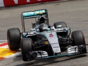 Nico Robserg course Monaco