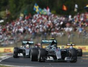 Mercedes top of flop Hongrie