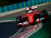 Vettel course Hongrie 2015
