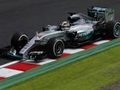 Lewis Hamilton course Japon 2015