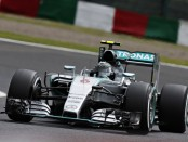 Nico Rosberg qualification Japon 2015