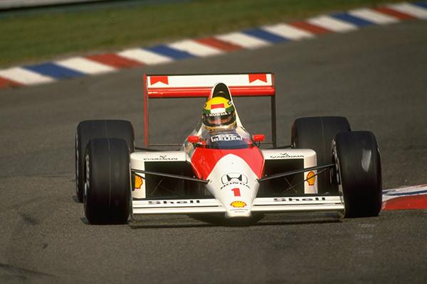 Ayrton Senna Hockenheim 1989