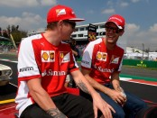 Ferrari the flop Mexique 2015