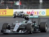 Rosberg course Mexique 2015