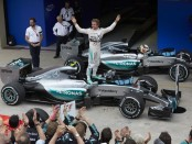 Rosberg the top Brésil 2015