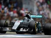 Rosberg course Brésil 2015