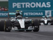 Rosberg qualification Mexique 2015