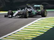 Rosberg qualification Brésil