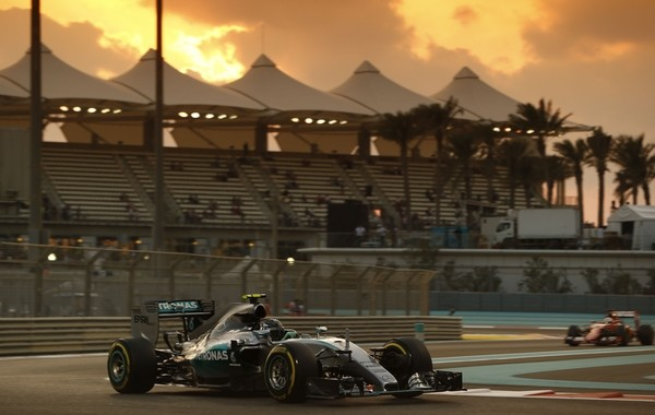 Rosberg qualification Abou Dhabi