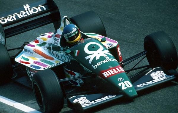 Gerhard Berger Mexico 1986