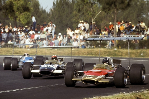 Graham Hill Mexico 1968