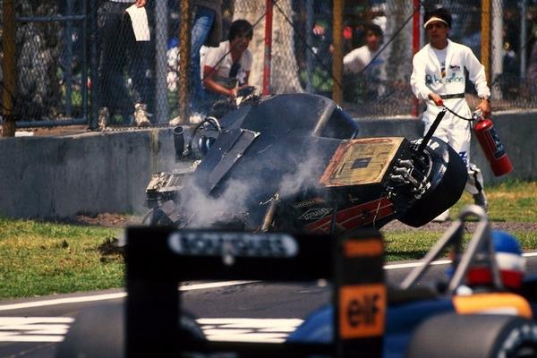 Philippe Alliot Mexico 1988