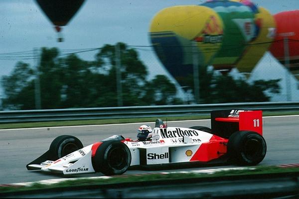Alain Prost Brésil 1988