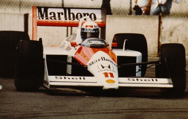 Alain Prost Detroit 1988