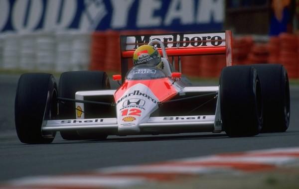 Ayrton Senna Belgique 1988