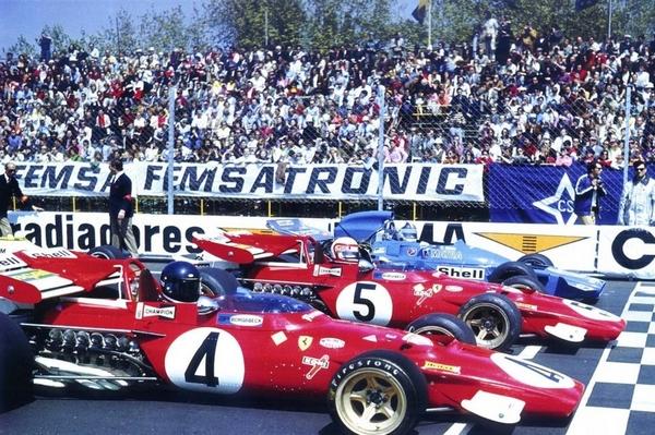 Ickx Regazzoni Amon Montjuic 1971