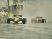Michael Schumacher Jean Alesi Australie 1991