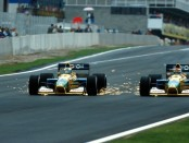 Michael Schumacher Nelson Piquet Espagne 1991