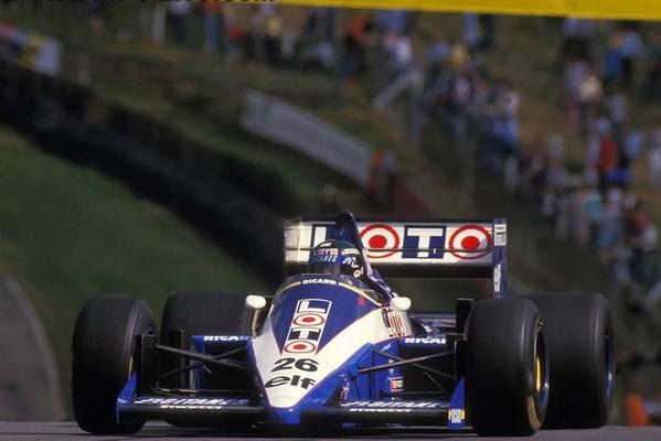 Brands Hatch Jacques Laffite 1986
