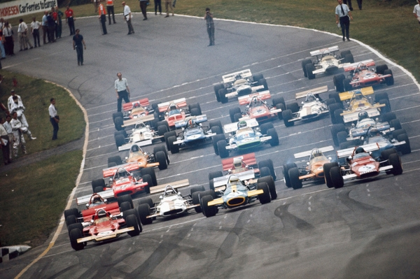 Brands Hatch départ 1970