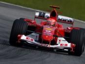 Ferrari F2004 Schumacher Brésil
