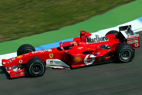 Ferrari F2004 Michael Schumacher Allemagne