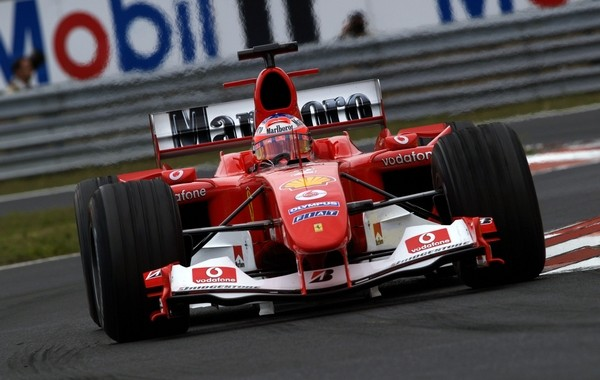 Ferrari F2004 Rubens Barrichello Hongrie