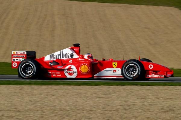 Ferrari F2004 Rubens Barrichello Imola