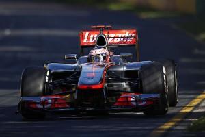Jenson Button Australie 2012