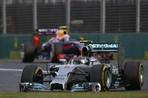 Nico Rosberg Australie 2014