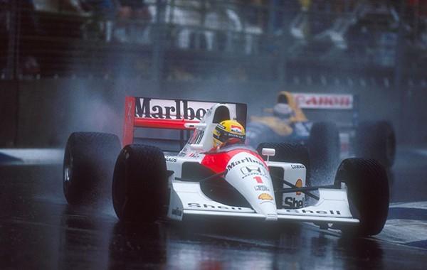 Ayrton Senna Australie 1991
