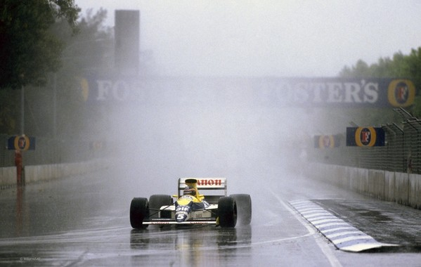 Thierry Boutsen Adelaide 1989