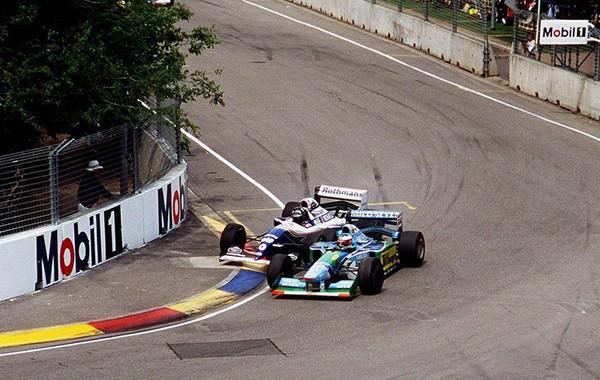 Hill Schumacher Adelaide 1994