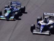 Schumacher Hill Silverstone 1994