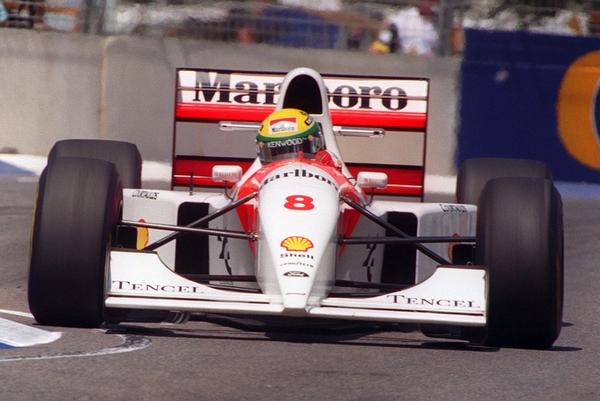 Ayrton Senna Australie 1993