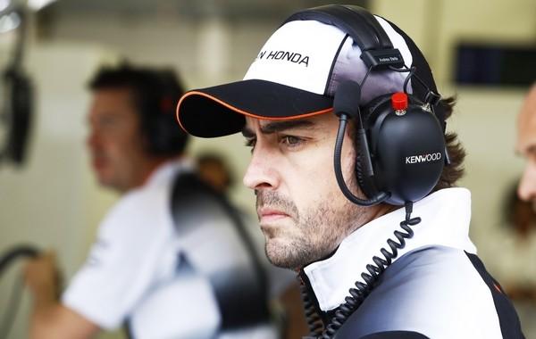 Fernando Alonso Bahreïn 2016