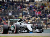 Nico Rosberg qualification Chine 2016