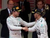 Hamilton Rosberg Monaco 2015