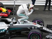 Lewis Hamilton the top Monaco 2016