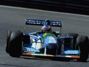 Michael Schumacher Belgique 1994