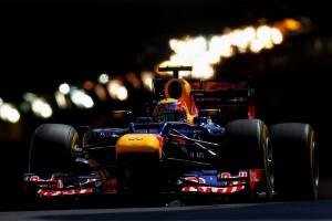 Mark Webber Monaco 2012