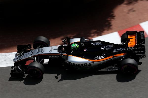 Nico Hulkenberg qualification Monaco 2016