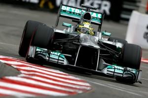 Nico Rosberg Monaco 2013