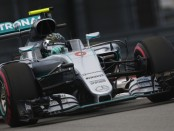 Nico Rosberg qualification Russie 2016