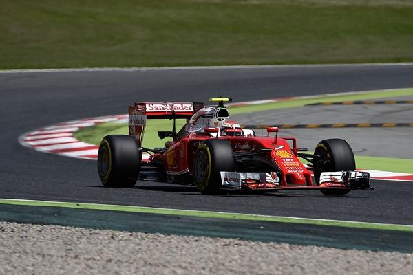 Kimi Raikkonen course Espagne 2016