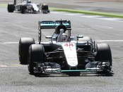 Lewis Hamilton Angleterre Course 2016